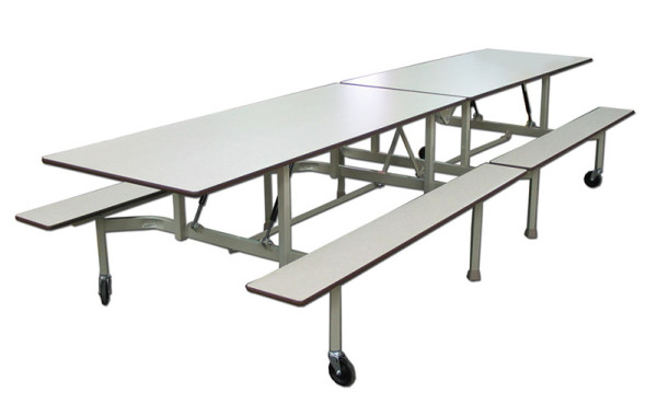 Table pliante avec bancs  <span>B-12</span>